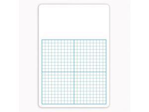 (4 Ea) Single 1/2In Graph Dry Erase Board 11X16