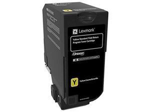 Lexmark - Bpd Supplies 74C0SYG Toner Cartridge Return Program Standard Yield, Yellow