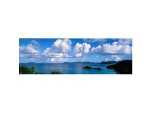 Panoramic Images PPI31729L Trunk Bay St John US Virgin Islands Poster Print by Panoramic Images - 36 x 12