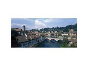 Panoramic Images PPI8507L Switzerland  Bern  Aare River Poster Print by Panoramic Images - 36 x 12