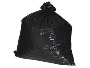 Nature Saver NAT00990 Trash Can Liners- Rcycld- 40-45 Gal- 1.25mil- 40in.x46in.- BK