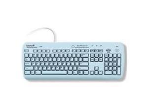 Esterline Advanced Input Systems WMB Medigenic Wireless Infection-Control Keyboard, Blue -Proven Effective in Reducing