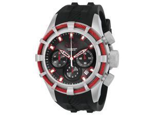 Invicta 886678271511 Mens 22151 Bolt Quartz Chronograph Black & Red Dial Watch