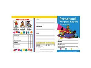 (6 Pk) Preschool Progress Reports 10 Per Pk For 1 Year Olds