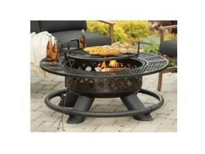 Shinerich Industrial 227766 47 in. Ranch Fire Pit with Grill