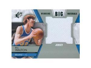 Autograph Warehouse 466622 Brad Daugherty Player Worn Jersey Patch Basketball Card, North Carolina Tar Heels - 2014 Upper Deck Winning Big Materials No.WMBD