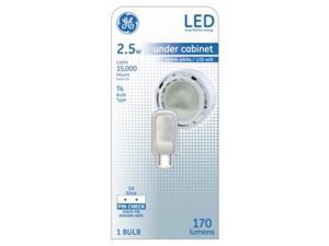 GE Lighting 234711 2.5W T4 LED Light Bulb - Warm White