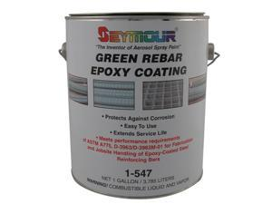 Seymour of Sycamore 1-547 1 gal Green Rebar Epoxy, 1 Containers - Pack of 4