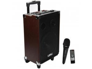 Befree Sound BFS-4700 10 in. 500 Watt Bluetooth Portable Speaker with USB, SD & FM Radio