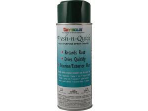 Seymour of Sycamore 11-8 16 oz Fresh-N-Quick VOC Compliant Spray Paint, Gloss Hunter Green - Pack of 6