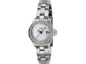 Invicta 28453 24 in. Womens Angel Quartz 3 Hand Pave Dial Watch