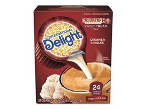 International Delight 102579 0.5 oz Coldstone Sweet Cream Flavored Liquid Non-Dairy Coffee Creamer