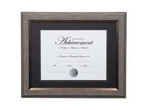Dax Manufacturing N16982ST 11 x 14 in. 2 Tone Document Frame - Gray