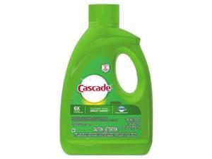 Tide 28193 120 oz Bottle Dishwasher Gel with Dawn, Lemon - 4 per Case
