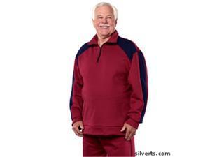 331d727571 Silverts 505300402 Mens Regular Fleece Tracksuit   Sweatsuit ...