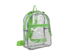 Eastsport 2290874 DDI Clear Mini Backpack, Lime Sizzle - Case of 12