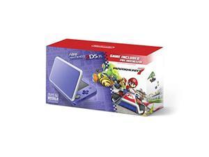 Nintendo JANSVBDB New Nintendo 2DSXL with Mario Cart 7 - Purple & Silver