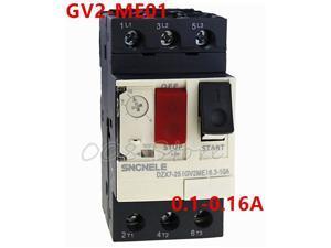 Motor Protector GV2 Series GV2ME01 GV2-ME01 0.1-0.16A