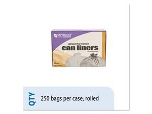 Ability One 5574984 High Density Coreless Roll Can Liner, Natural - 40 x 48 in. - 250 Per Case