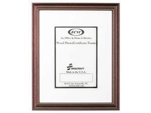 Ability One 4246478 11 x 14 in. Skilcraft Mahogany Certificate & Photo Frame