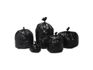 Ability One 3862428 50 in. Skilcraft Recycled Content Trash Can Liners, Brown & Black