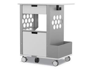Safco 5202WH Mobile Storage Cart