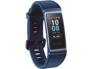 Huawei Device 55023080 Terra-B19 Band 3 Pro GPS Ain1 Track 5ATM Water Resist - Blue