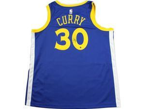 c38fa83ef60 Steiner Sports CURRJES000018 Stephen Curry Signed Golden State Warriors Nike  Blue Swingman Jersey
