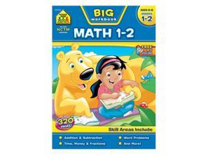 School Zone Publishing SZP06326BN 2 Each Big Math Workbook - Grade 1-2