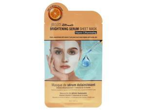 Satin Smooth U-SC-5454 Brightening Serum Sheet Mask for Unisex - 0.84 oz
