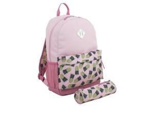 Eastsport 2315266 Bundle Backpack, Pink Pineapple - Case of 24