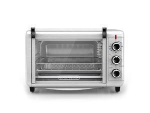 Spectrum Brands TO3215SS Black & Decker Crisp N Bake Convection Air Fry Countertop Oven, Silver