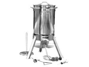 Bayou Classic 200-440 44 qt. Stainless Steel Turkey Fryer Kit