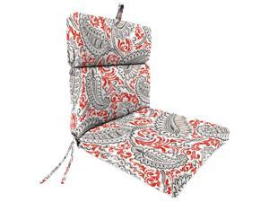 Jordan 9502PK1-4264D 22 x 44 x 4 in. Outdoor Chair Cushion in Shannon Indian Coral