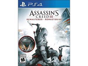 Ubisoft UBP30502219 Assassins Creed III Remastered - Playstation 4
