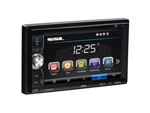 Sound Storm Laboratories SSL-DD899B Double DIN DVD & CD Receiver with 6.2 in. Touchscreen Display & Built-In Bluetooth
