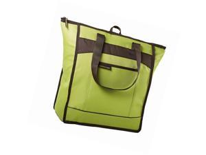 Medport 5060RR1610 Rachael Ray ChillOut Thermal Tote Insulated Bag - Green with Brown Trim