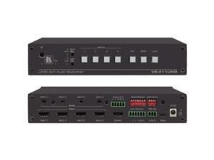Kramer 20-90051790 VS-411UHD 4 in to 1 Automatic 4K60 4 is to 2 is to 0 HDMI Auto Switcher