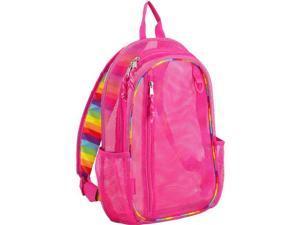 Eastsport 2326722 Mesh Active Backpack, Pink - 17 in. - Case of 12