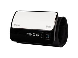 Omron BP7000 Evolv Wireless Upper Arm Blood Pressure Monitor, Black & White