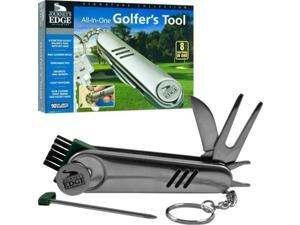 Journeys Edge All-In-One Stainless Steel Golfers Tool