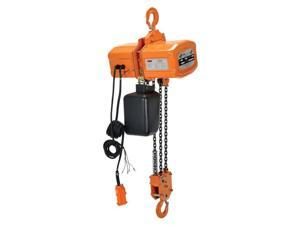 Vestil Manufacturing H-6000-3 6000 lbs 3 Phase Economy Chain Hoist with Chain Container