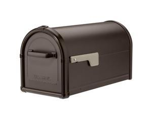 Architectural Mailboxes 5593RZ-CG Hillsborough Post Mount Mailbox - Rubbed Bronze - Large