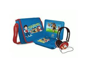 Ematic NKBY6341 7 in. Nickelodeons Paw Patrol Theme Portable DVD Player for Boys, Blue