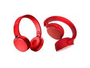 Bytech BCAUBO170RD Swivel Wireless Stereo Headphones, Red