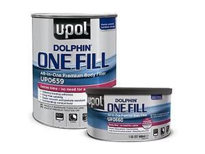 U-POL Products UPL-UP0660 Dolphin All in One Premium Body Filler