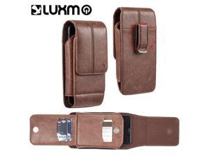 LG LPSAMI717LU29VBR Luxmo No.29 Galaxy Note & I717 Vertical Universal Leather Pouch - Brown