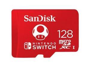 WDT SDSQXAO-128G-GNCZN 128 GB SanDisk MicroSDXC UHS-I Memory Card for Nintendo Switch