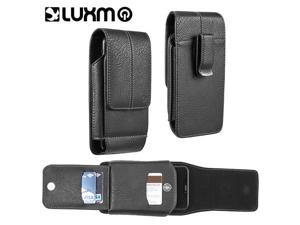 LG LPSAMI717LU29VBK Luxmo No.29 Galaxy Note & I717 Vertical Universal Leather Pouch - Black
