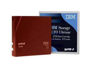IBM 01PL041 LTO-8 Ultrium 12TB-30TB Data Cartridge